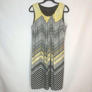Perceptions Sleeveless Pintuck Dress Sz XL NWOT